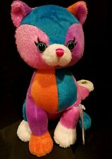 Webkinz COLORBLOCK KITTY - NWT -  IN HAND - SHIPS DAILY !!!