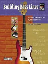 Building Bass Lines (Book & CD) by Chuck Archard