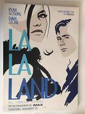 "LA LA LAND 17""x24"" D/S Original Promo Movie Poster IMAX Ryan Gosling Emma Stone"