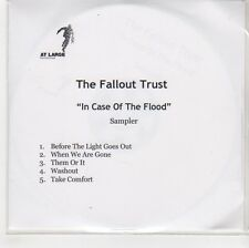 (GF970) The Fallout Trust, In Case Of The Flood Sampler - DJ CD