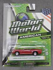 Green light Motor World 1969 Chevrolet Camaro SS - American Edition - Series 13