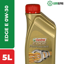 Olio Motore Castrol EDGE Professional E 0W30 TITANIUM FST 5 Litri