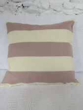 Cushion Cover, Designers Guild, Old Rose, Cream, Stripes.