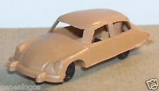 RARE MONTAPLEX HO 1/87 CITROEN DS 19 MARRON CLAIR
