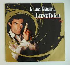 "12"" DE**GLADYS KNIGHT - LICENCE TO KILL (MCA RECORDS '89)***11883"