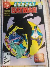 Batman Annual #11 (1987) Alan Moore Dc comic book Penguin & Mr. Freeze Detective