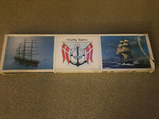 """cutty sark model ship kit 43"""" long,trade for another boat kit"""