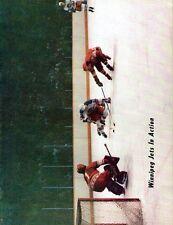 1978 Winnipeg Jets Home vs Indianapolis Racers WHA World Hockey Assn Program
