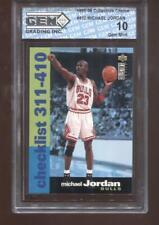 Michael Jordan 1995-96 Collectors Choice #410 HOF Chicago Bulls GEM MINT 10