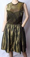 VINTAGE 24.4ms vie VICTORIA Royal verde oro metálico fiesta de promoción