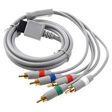 RCA YPbPr Komponenten-Kabel AV Audio Video 1.7m fuer Nintendo Wii Grau A5I2