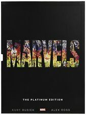 Marvels: The Platinum Edition Slipcase, Alex Ross, Kurt Busiek, Used Very Good B