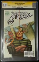 Amazing Spider-Man #615 Marvel Comics CGC 9.8 SS White Pages Stan Lee Signed