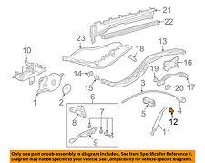 PORSCHE OEM Boxster Motor-Convertible/soft Top-Push Rod Bushing 99992413040