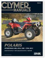 Clymer M365-5 1996-2013 Polaris Sportsman 400 450 500 Service Repair Shop Manual