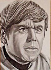Star Trek ACEO/ PSC sketch card of Chekov