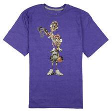 00667424661 JORDAN Like Father Like Son T-Shirt sz XL X-Large Purple Heather Spizike