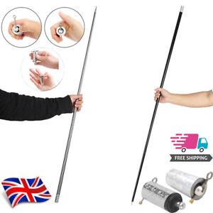 Magic Cane Wand Stick Metal Martial Arts Bo Staff Pocket Stage Trick Gimmick UK