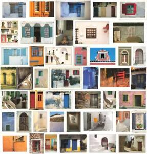 1990s Greece & Portugal Window & Door Larger (6.5X4.75 Inches) Postcards.