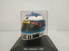 1/5 CASCO MIKA HAKKINEN 1998 HELMET COLECCION F1 FORMULA 1 A ESCALA DIECAST