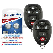 2 New Keyless Entry Replacement Remote Start Control Key Fob For 15913415