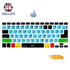 Davinci Resolve Shortcut Keyboard Cover Skin for EU layout Apple mac Keyboards