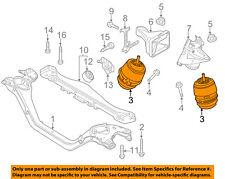 PORSCHE OEM 11-14 Cayenne-Engine Motor Mount 95837504900