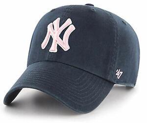 New York Yankees '47 Brand Women's Clean Up Adjustable Hat - Navy