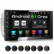 Autoradio mit Android 8.1 T8 Octa Core 2gb 32gb Gps Navi Sd-Slot und 2xusb Dab+