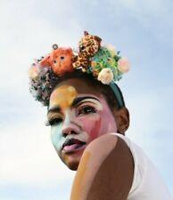 Plush Toy Cute Festival Flower Pom Pom Crown Headdress Kawaii Pastel Goth Indie