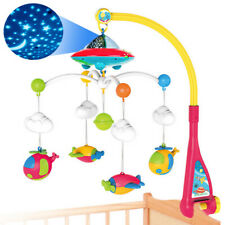Baby Musical Bed Bell Kid Crib Musical Mobile Cot Music Box Gift Baby Rattle Toy