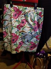 Colorful - Floral Design - Womens Skirt - fully lined - sz 16