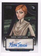 2017 Star Wars Galactic Files Reborn autograph AU-KSO Kath Soucie 39/50