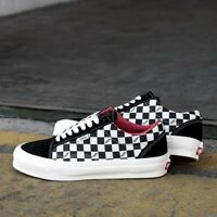 VANS Old Skool NS OG Black Checkerboard White UK 12 US 13 EUR 47 Vault Sk8-Hi LX