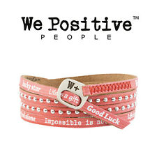 WE POSITIVE HD014 BRACCIALE ROSSO HOLIDAY