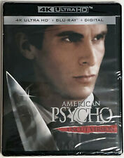 American Psycho 4K Ultra Hd + Blu-Ray. New and Factory Sealed. No Slipcover