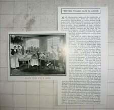 1903 Weben Panama Hüte in London, Herrn S Marks