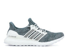 cde85d579d3 New Adidas Ultraboost PARLEY Running Shoes WHITE SILVER CM8272 LTD For Men s
