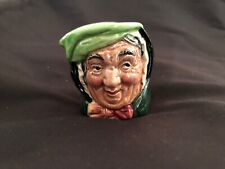 Very Rare Royal Doulton Sairey Gamp Mini Character Toby Jug Mug Toothpick Holder