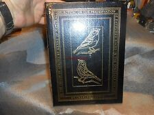 Easton Press On the Origin of Species Darwin Leather Bound Book Sealed