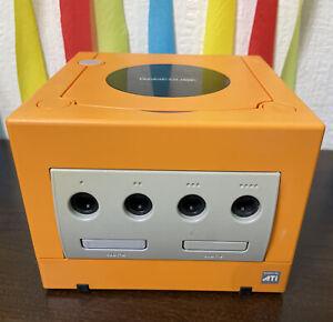 Nintendo Gamecube Spice Orange Dol-001 (jpn) Japanese JAPAN NTSC-J Console ONLY.