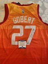 Rudy Gobert Autographed Signed Jersey Utah Jazz Beckett COA