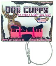 Doe Cuffs Pink Hunting Season Deer Drag Outdoors Easy Grip Hooves By Buck Cuffs