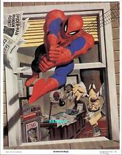 SPIDERMAN WEBS UP J JONAH JAMESON! ORIGINAL POSTER PRINT FASTNER LARSON ART 1981