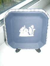 Wedgwood Trinket Dish Jasperware Portland Blue British