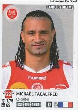 N°325 MICKAEL TACALFRED # STADE DE REIMS VIGNETTE STICKER  PANINI FOOT 2013