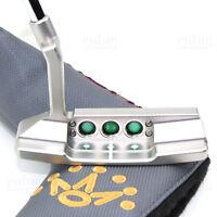 CUSTOM 2018 Titleist Scotty Cameron SELECT NEWPORT 2 GREEN Edition Golf Putter