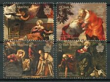 San Marino Art Stamps 2018 MNH Tintoretto 500th Birth Religious Paintings 4v Set