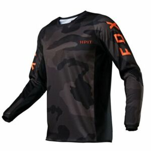 Downhill Jerseys Hpit Fox Mountain Bike MTB Shirts Offroad DH Motorcycle Jersey