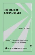The Logic Of Causal Order (Quantitative Applications in the Social Sciences), Da